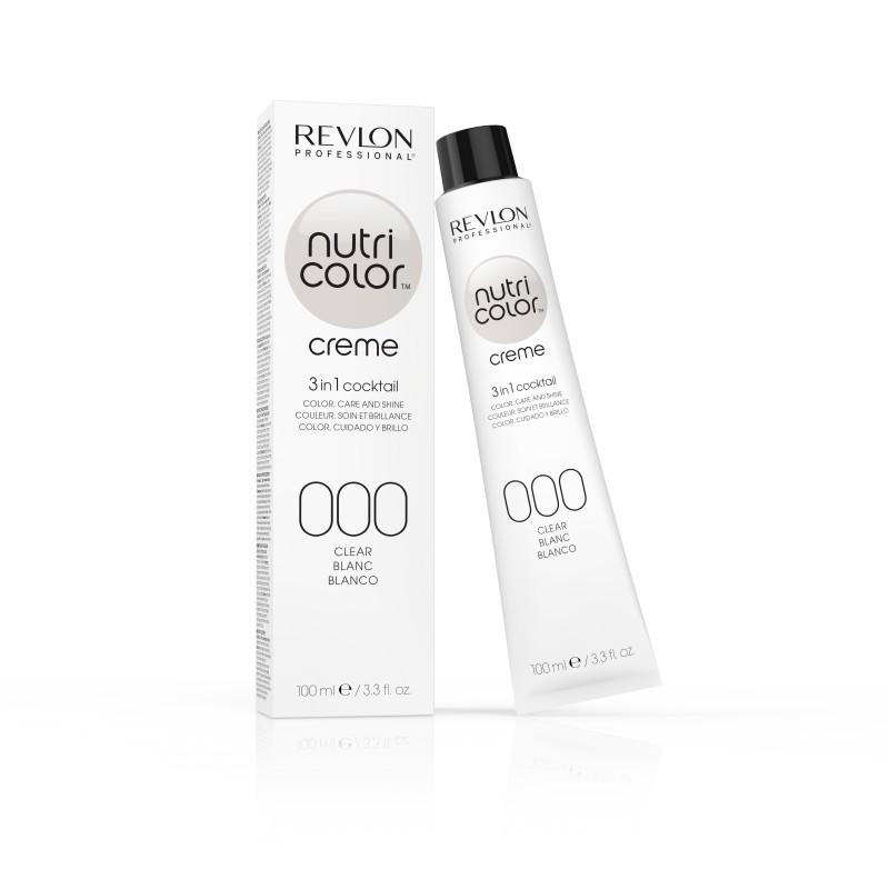 REVLON PROFESSIONAL 000 краска 3 в 1 для волос, white / NUTRI COLOR CREME 100 мл