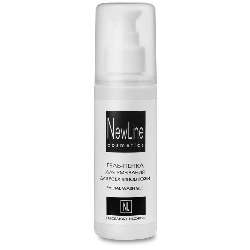 NEW LINE PROFESSIONAL Гель-пенка для умывания для всех типов кожи 150 мл
