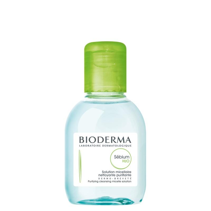 BIODERMA Вода мицеллярная себиум / Н2О 100 мл