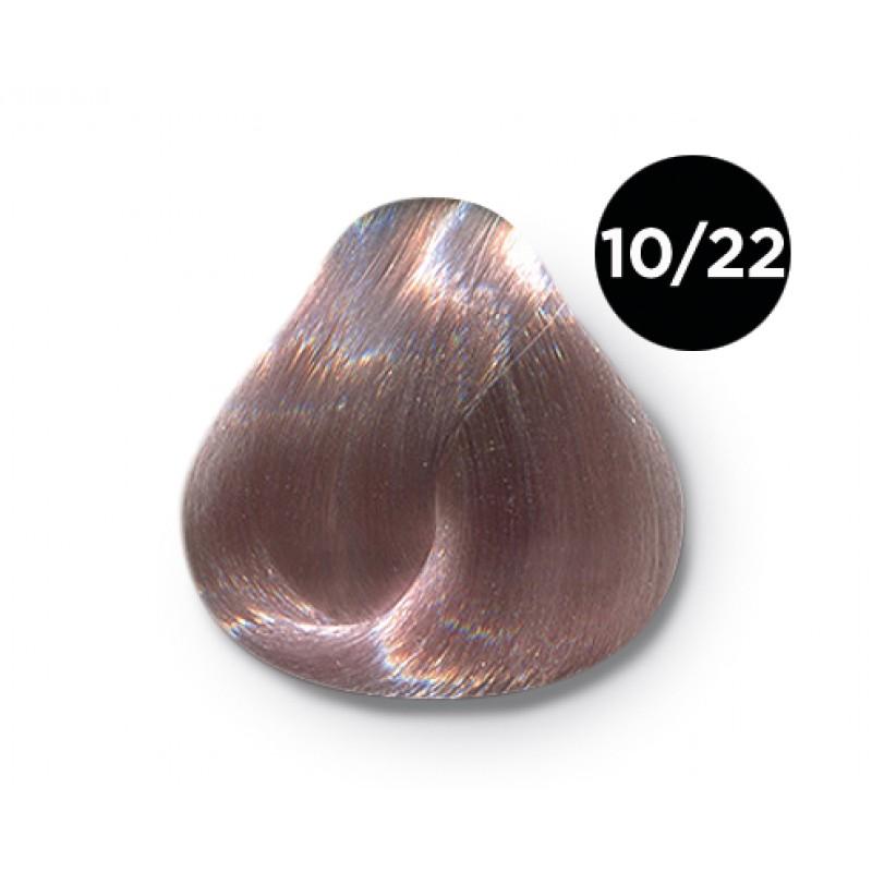OLLIN PROFESSIONAL 10/22 краска для волос, светлый блондин фиолетовый / OLLIN COLOR 100 мл