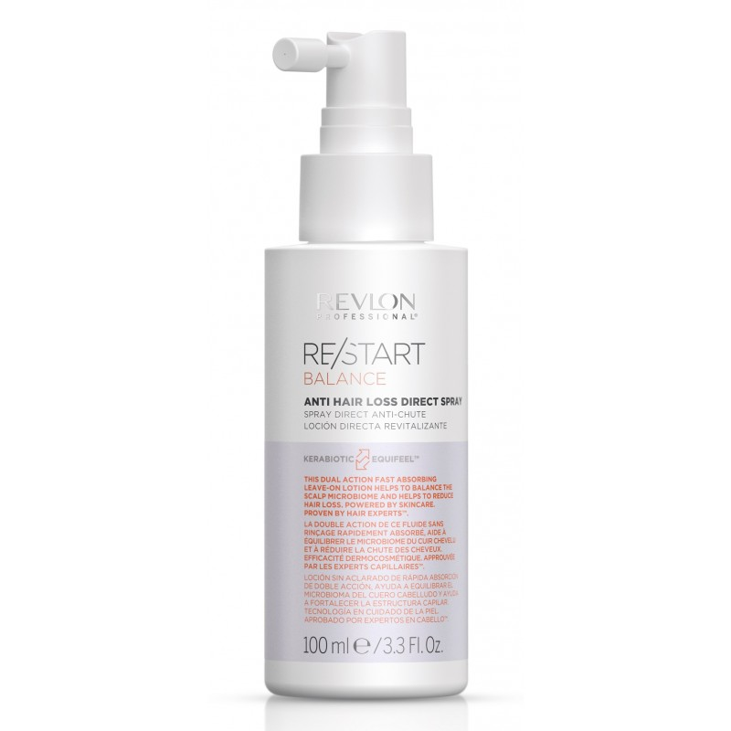 REVLON PROFESSIONAL Спрей против выпадения волос / RESTART BALANCE ANTI HAIR LOSS DIRECT SPRAY 100 мл