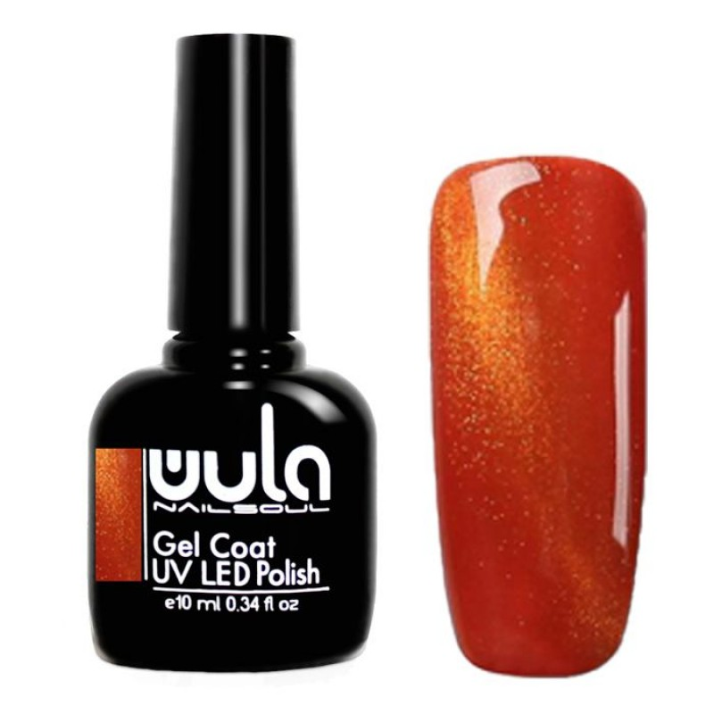 WULA NAILSOUL 605 гель-лак для ногтей / Wula nailsoul Cat's eye 10 мл