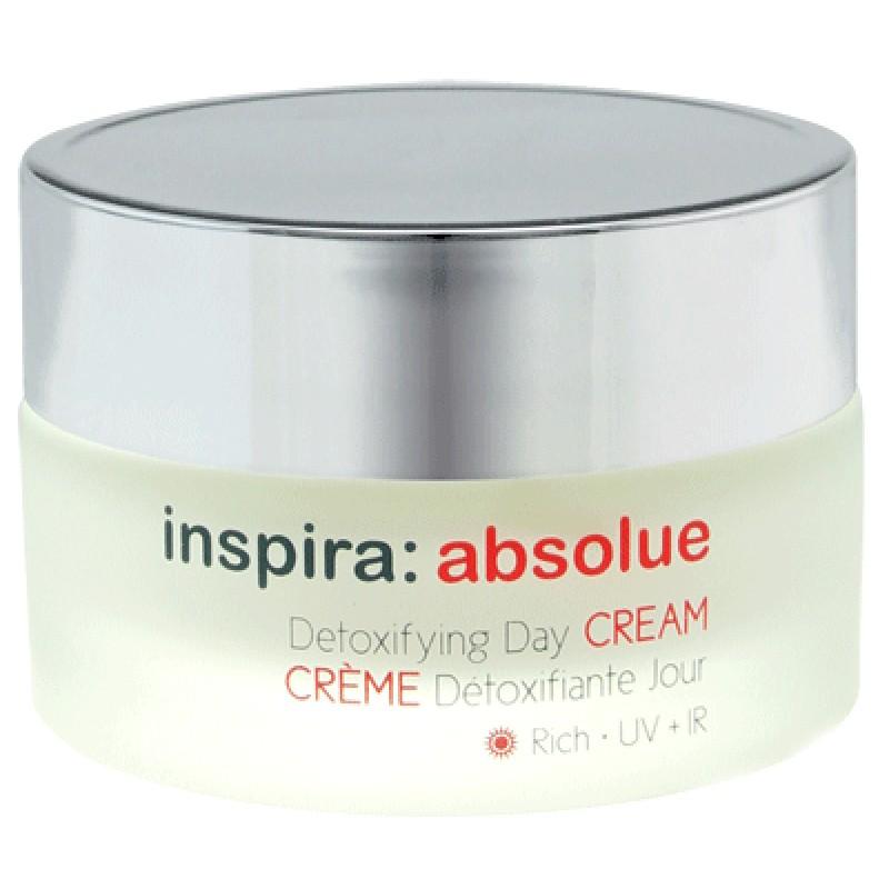 INSPIRA COSMETICS Крем детоксицирующий обогащенный увлажняющий дневной / Detoxifying Day Cream Rich INSPIRA ABSOLUE 50 мл