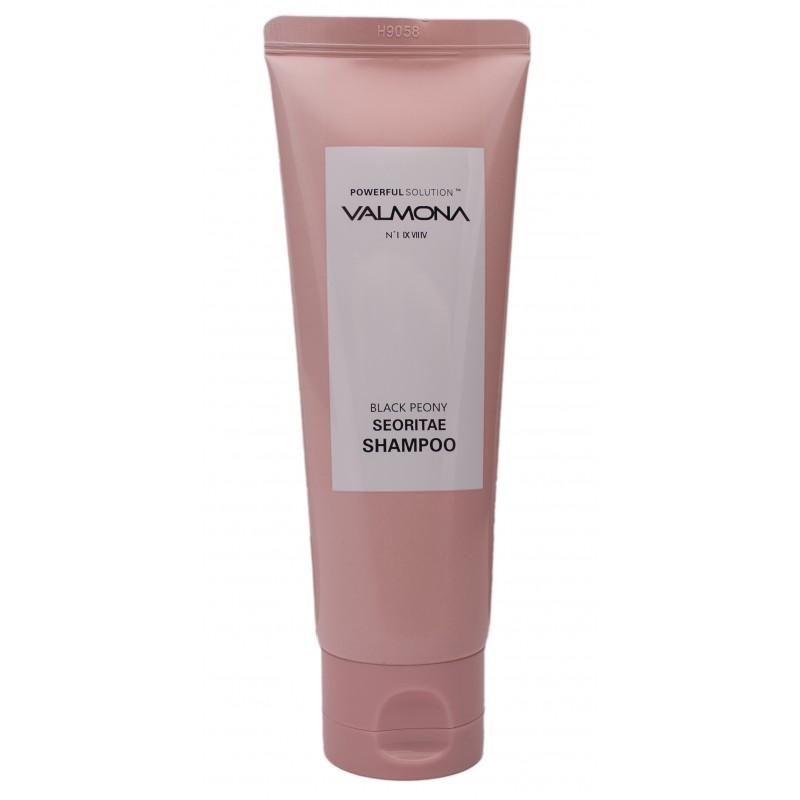 EVAS Шампунь для волос Черный пион - бобы / VALMONA Powerful Solution Black Peony Seoritae Shampoo 100 мл