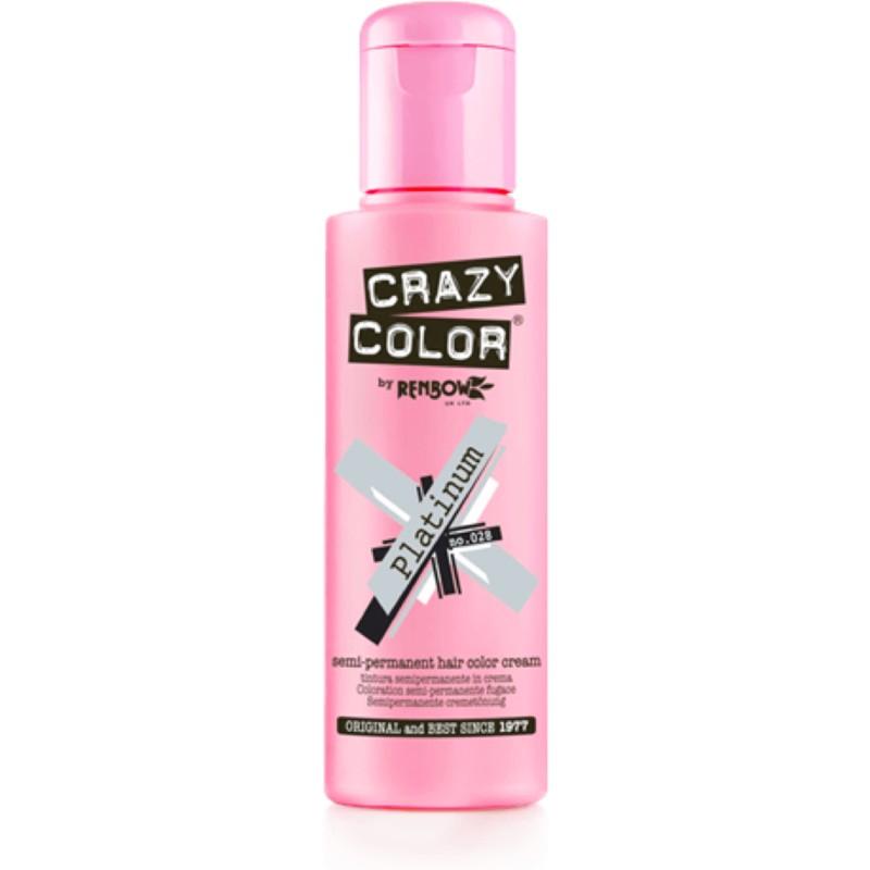 CRAZY COLOR Краска для волос, платиновый / Crazy Color Platinum 100 мл