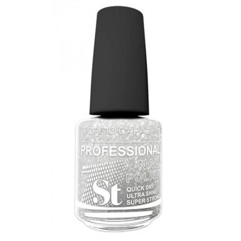 GIORGIO CAPACHINI 65 лак для ногтей, серебро / 1-st Professional 16 мл
