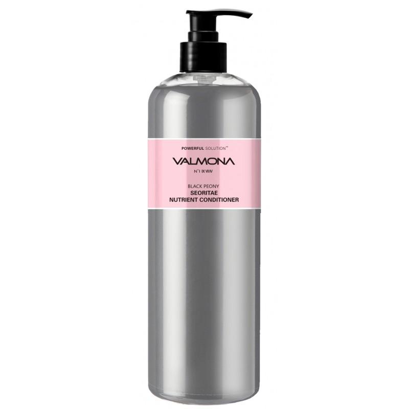 EVAS Кондиционер для волос Черный пион - бобы / VALMONA Black Peony Seoritae Nutrient Conditioner 480 мл