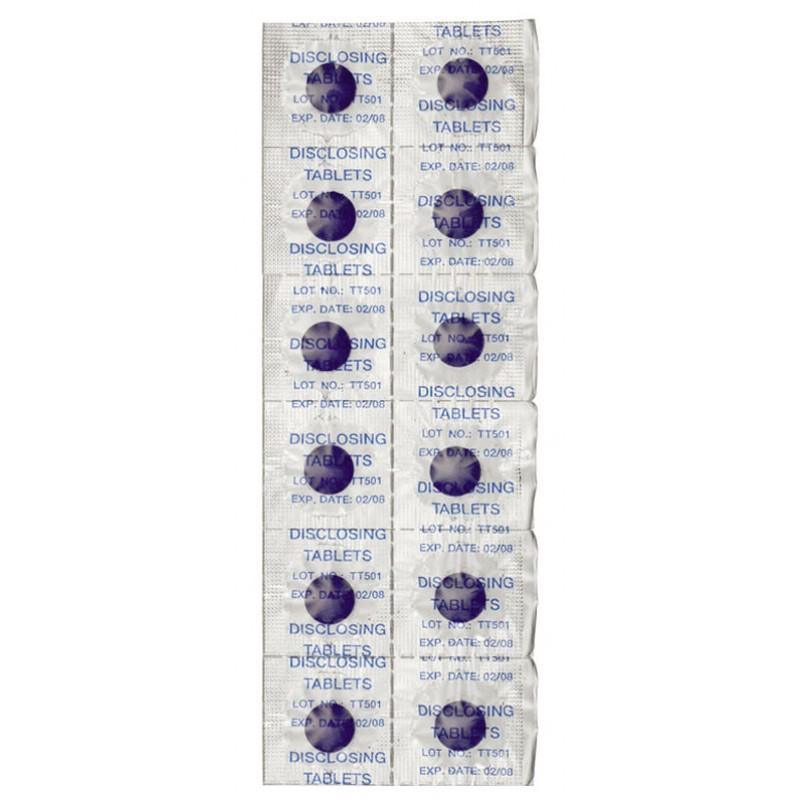 CURAPROX Таблетки для индикации зубного налета, 12 шт