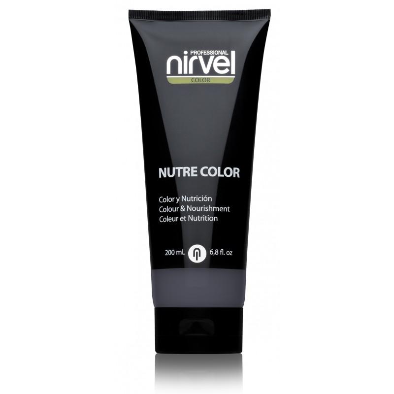 NIRVEL PROFESSIONAL Гель-маска питательная, цвет пепельный / NUTRE COLOR GREY 200 мл