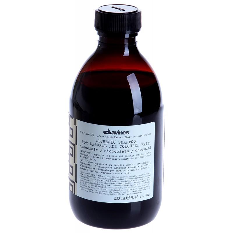 DAVINES SPA Шампунь оттеночный для натуральных и окрашенных волос Алхимик, шоколад / ALCHEMIC 280 мл