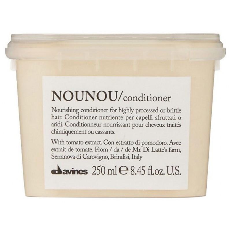 DAVINES SPA Кондиционер питательный, облегчающий расчесывание волос / NOUNOU ESSENTIAL HAIRCARE 250 мл