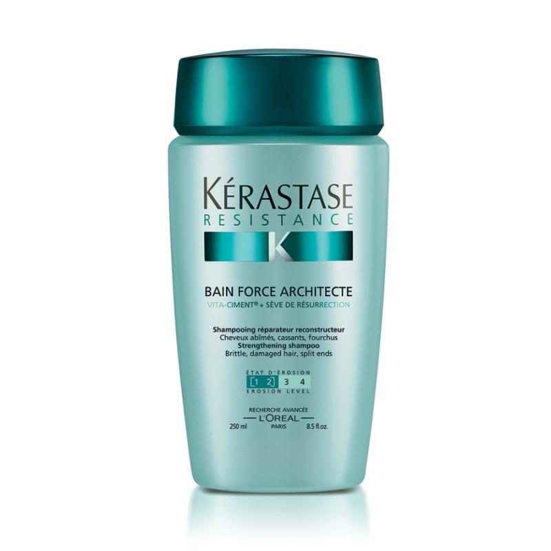KERASTASE Шампунь-ванна для поврежденных волос Форс Архитект / РЕЗИСТАНС 250 мл