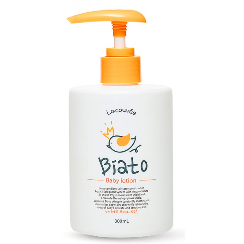 LACOUVEE BIATO Лосьон детский для тела / Biato Baby Lotion 300 мл