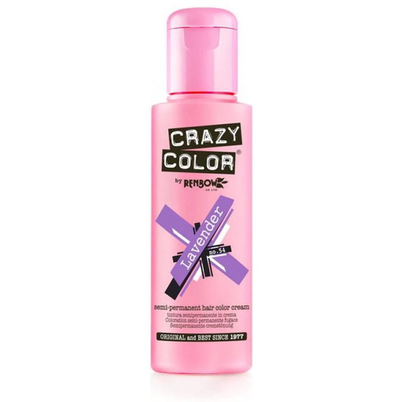 CRAZY COLOR Краска для волос, лавандовый / Crazy Color Lavender 100 мл