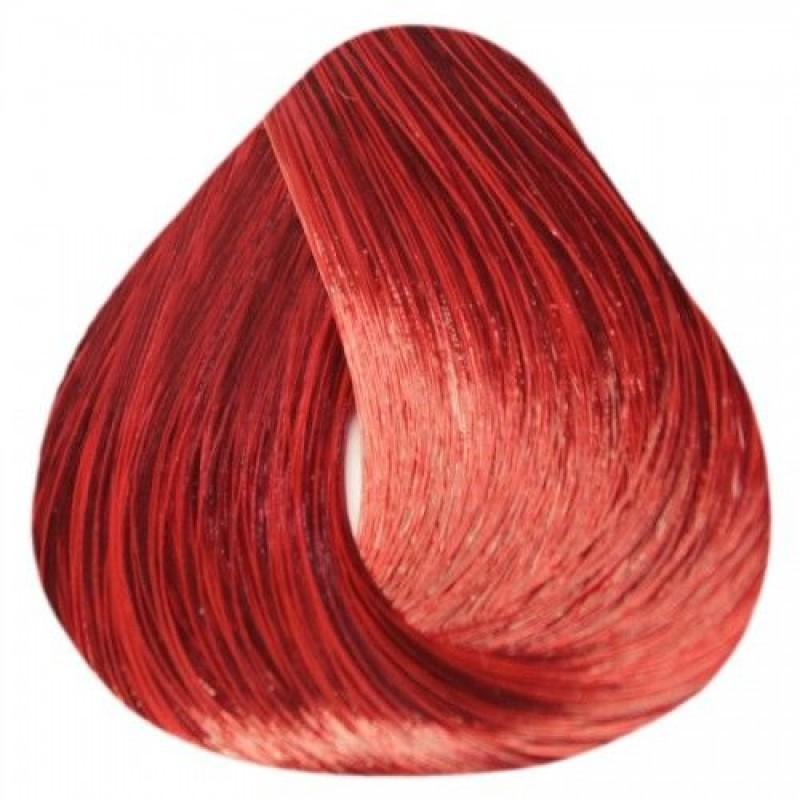ESTEL PROFESSIONAL 77/55 краска для волос, русый красный интенсивный / DE LUXE EXTRA RED 60 мл