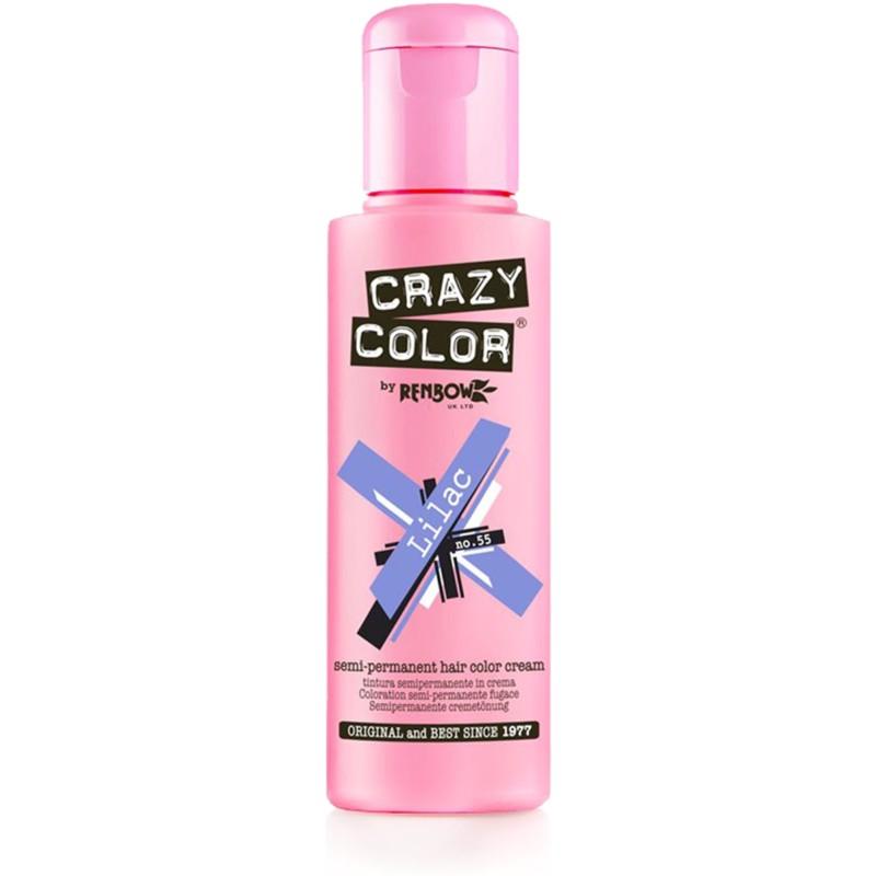 CRAZY COLOR Краска для волос, сиреневый / Crazy Color Lilac 100 мл