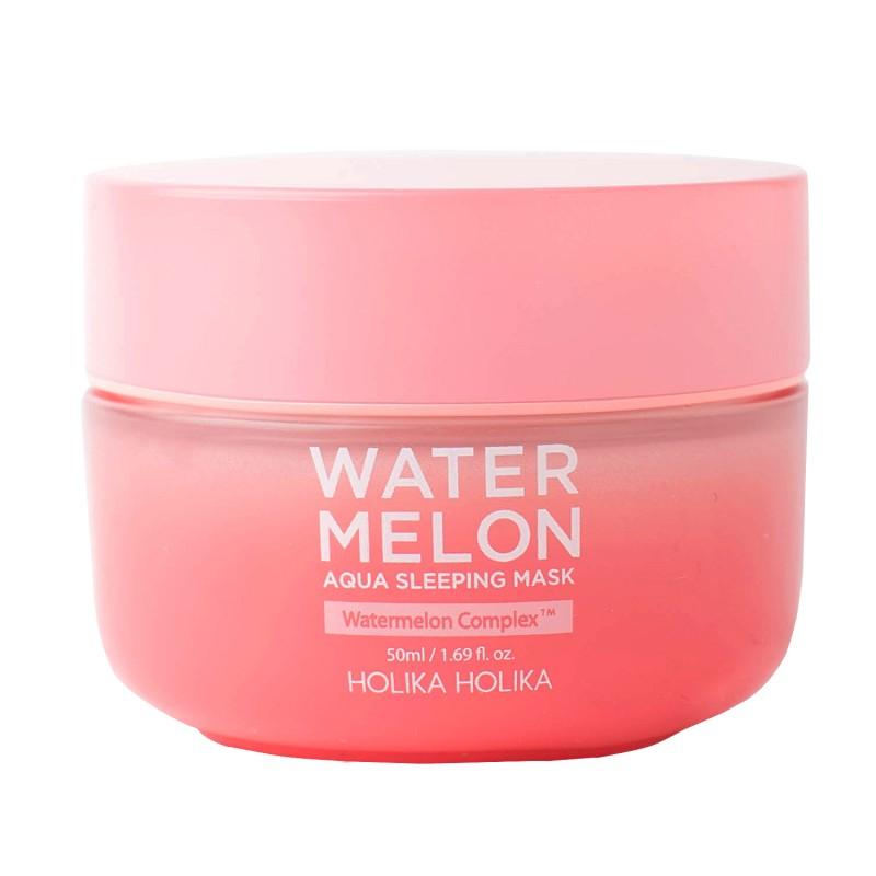HOLIKA HOLIKA Маска ночная увлажняющая для лица с экстрактом арбуза / Water Melon Aqua Sleeping Mask 50 мл