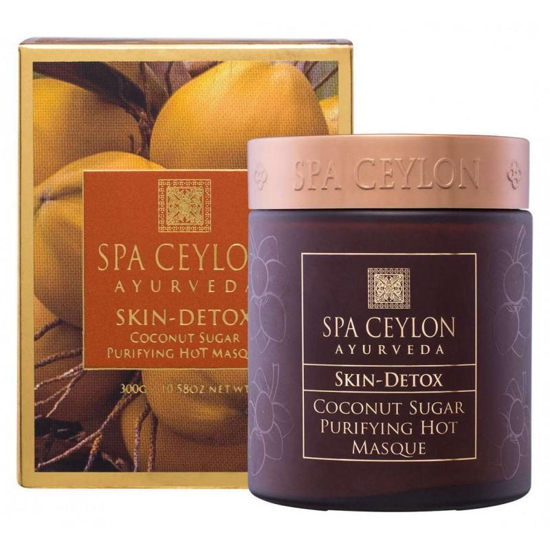 SPA CEYLON Маска-детокс горячая с кокосовым сахаром Счастливая кожа 300 мл