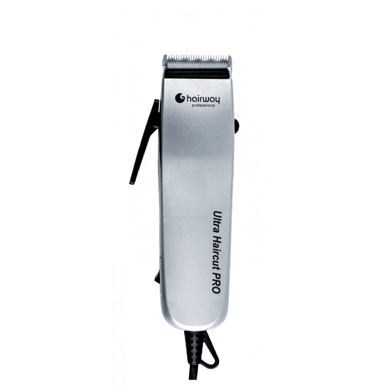 HAIRWAY Машинка Hairway Ultra Haurcut PRO для стр.вибр.серебр. 10W