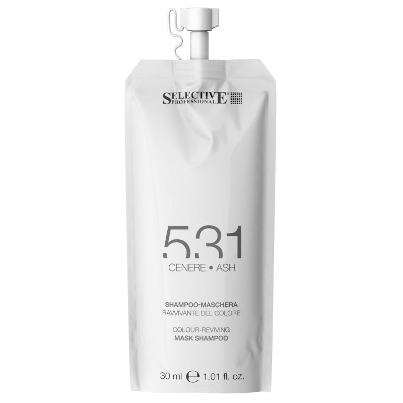 SELECTIVE PROFESSIONAL Шампунь-маска для возобновления цвета волос 531, пепельный 30 мл
