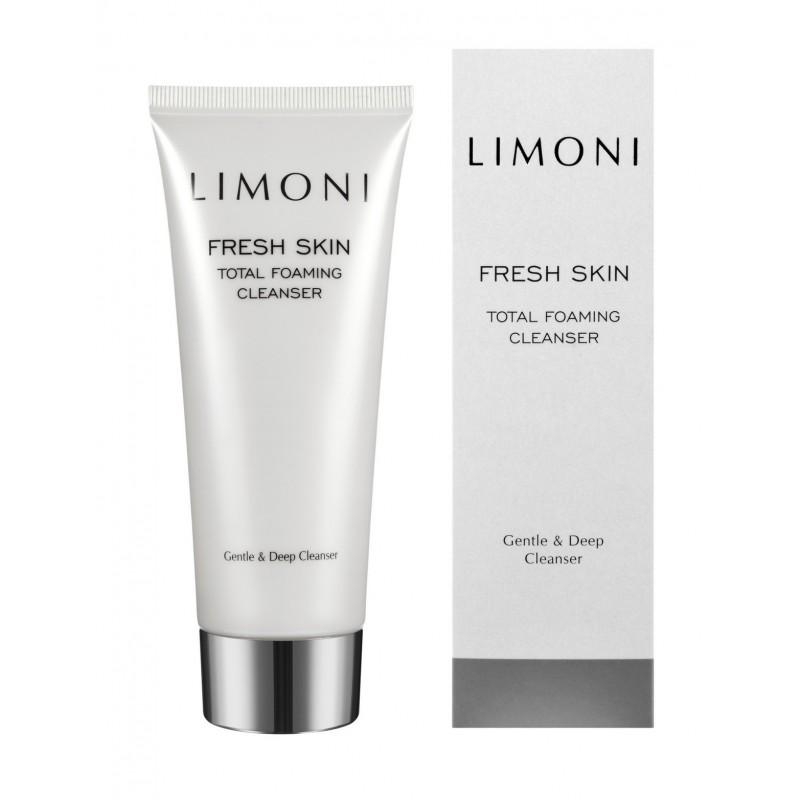 LIMONI Пенка для глубокого очищения кожи / Total Foaming Cleanser 100 мл