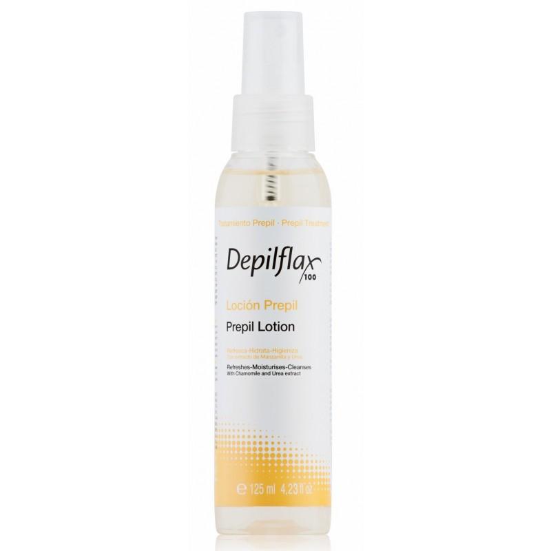 DEPILFLAX 100 Лосьон очищающий и дезинфицирующий перед депиляцией / Prepil Lotion 125 мл