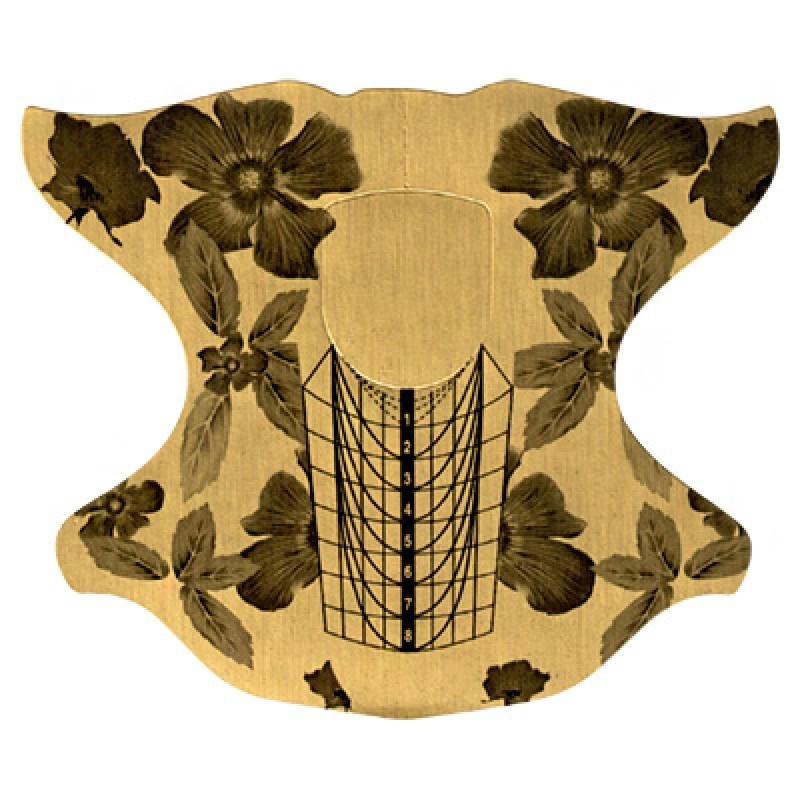 IRISK PROFESSIONAL Формы металлизированные цветок 100 шт