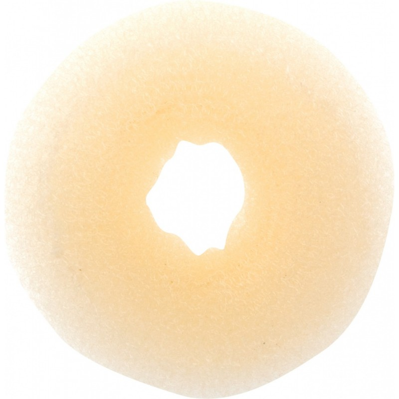 DEWAL PROFESSIONAL Валик для прически, сетка, блондин d 8 см