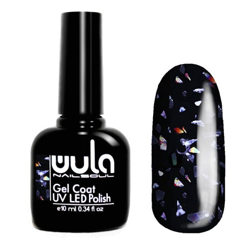 WULA NAILSOUL 622 гель-лак для ногтей / Wula nailsoul Glitter Rain 10 мл