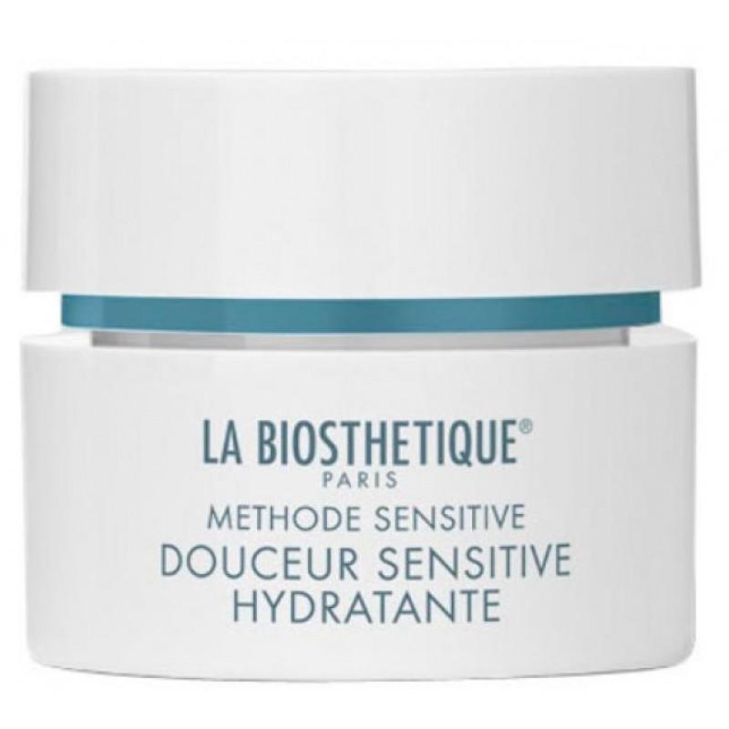 LA BIOSTHETIQUE Крем успокаивающий для увлажнения и восстановления баланса обезвоженной, чувствительной кожи / Douceur Sensitive Hydratante 50 мл