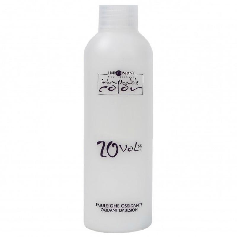 HAIR COMPANY Эмульсия окислительная 6%, 20 vol / INIMITABLE Oxidant Emulsion 150 мл