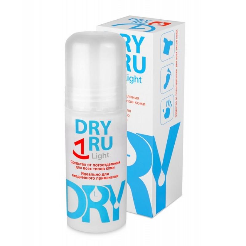 DRY RU Средство от потоотделения для всех типов кожи / Light 50 мл
