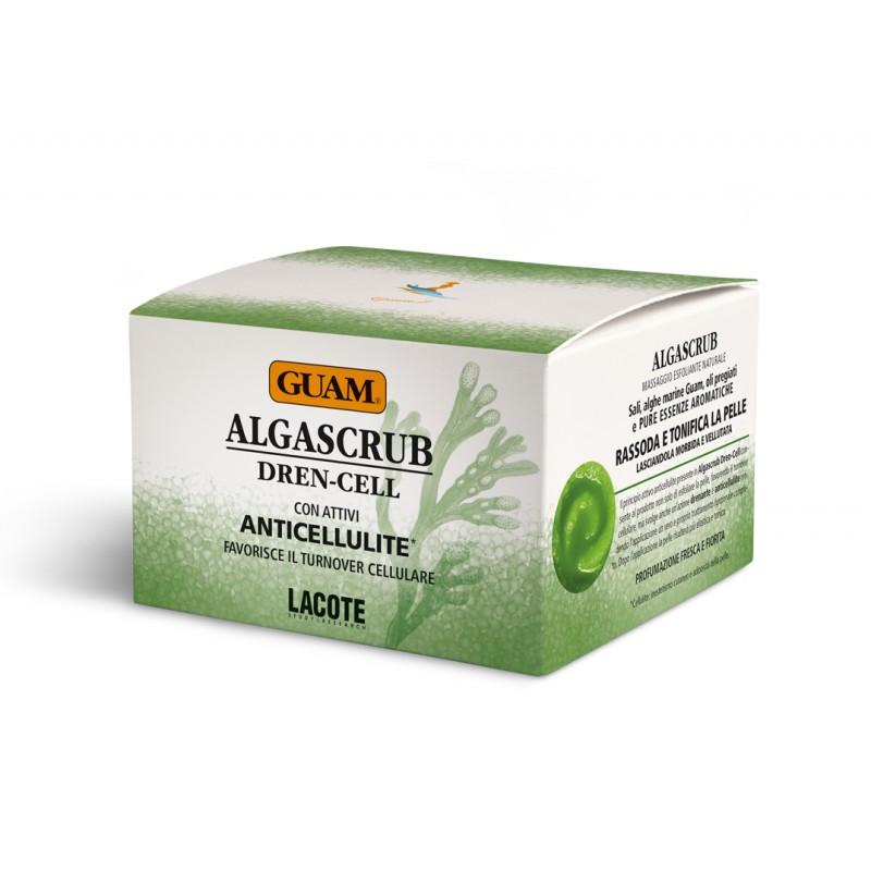 GUAM Скраб с эфирными маслами Дренажный / ALGASCRUB 300 мл