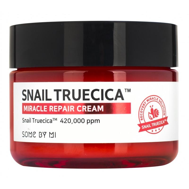 SOME BY MI Крем с муцином улитки и комплексом растительных экстрактов / Snail Truecica 60 г