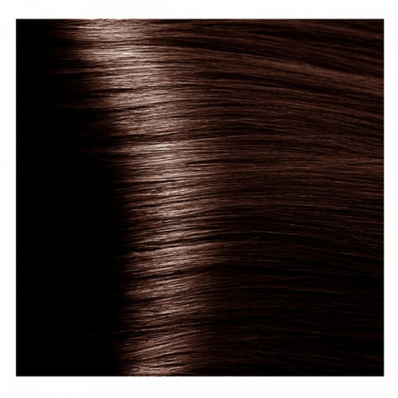 KAPOUS NA 5.35 краска для волос, янтарный каштан / Magic Keratin 100 мл