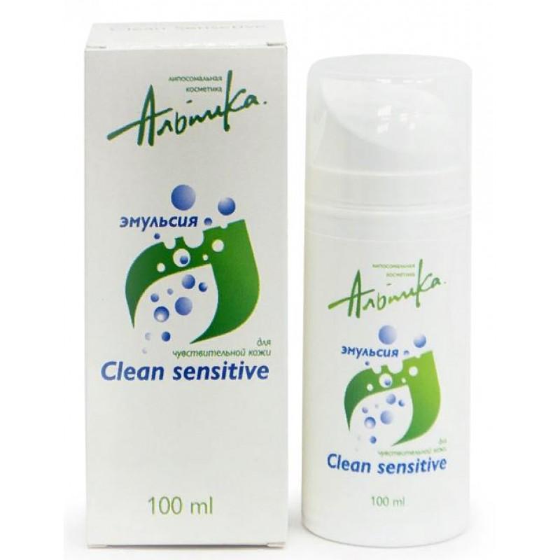 АЛЬПИКА Эмульсия для чувствительной кожи / Clean sensitive 100 мл