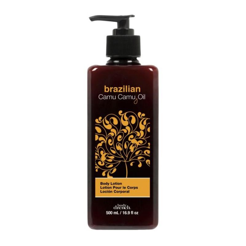 BODY DRENCH Лосьон бразильский для тела с маслом каму-каму / Exotic Oils Brazilian Camu Camu Oil Body Lotion 500 мл