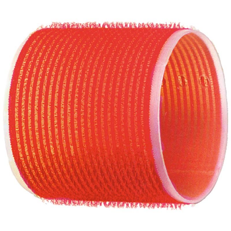 DEWAL PROFESSIONAL Бигуди-липучки красные d 70 мм 6 шт/уп