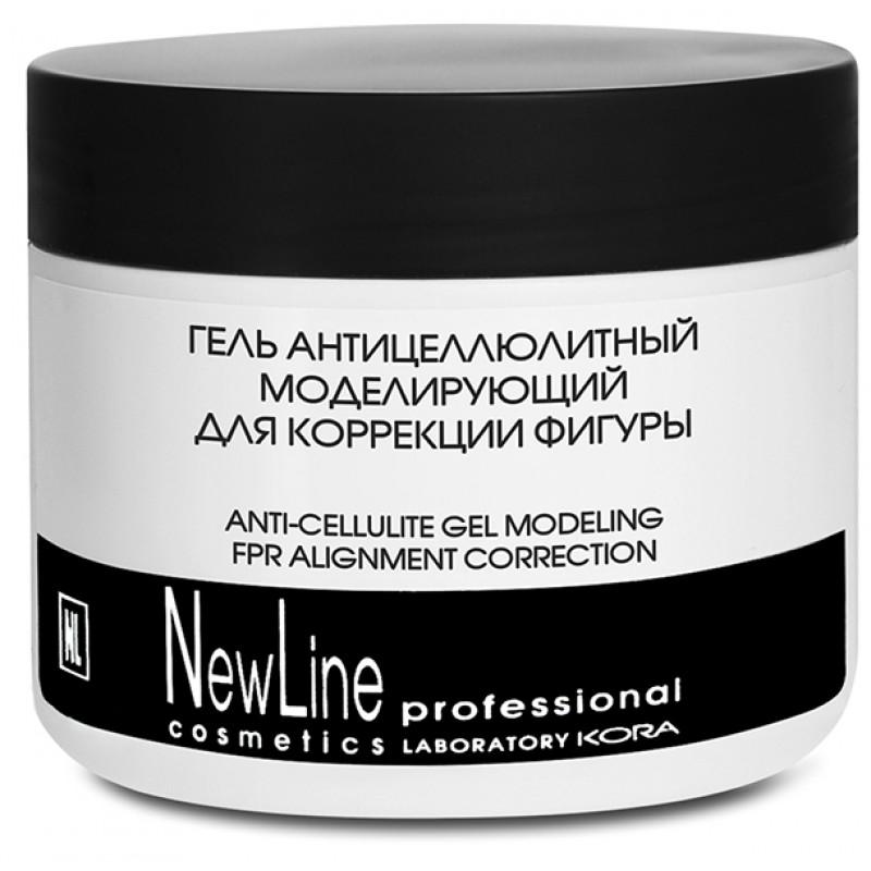 NEW LINE PROFESSIONAL Гель антицеллюлитный моделирующий для коррекции фигуры 300 мл