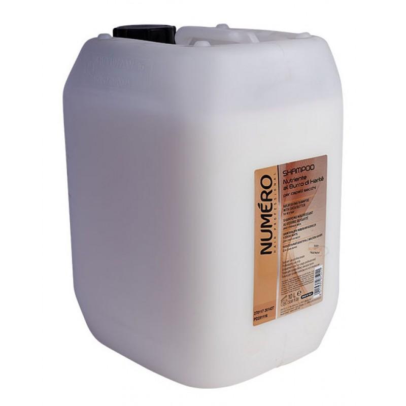BRELIL PROFESSIONAL Шампунь с маслом карите для сухих волос / Numero 10 л