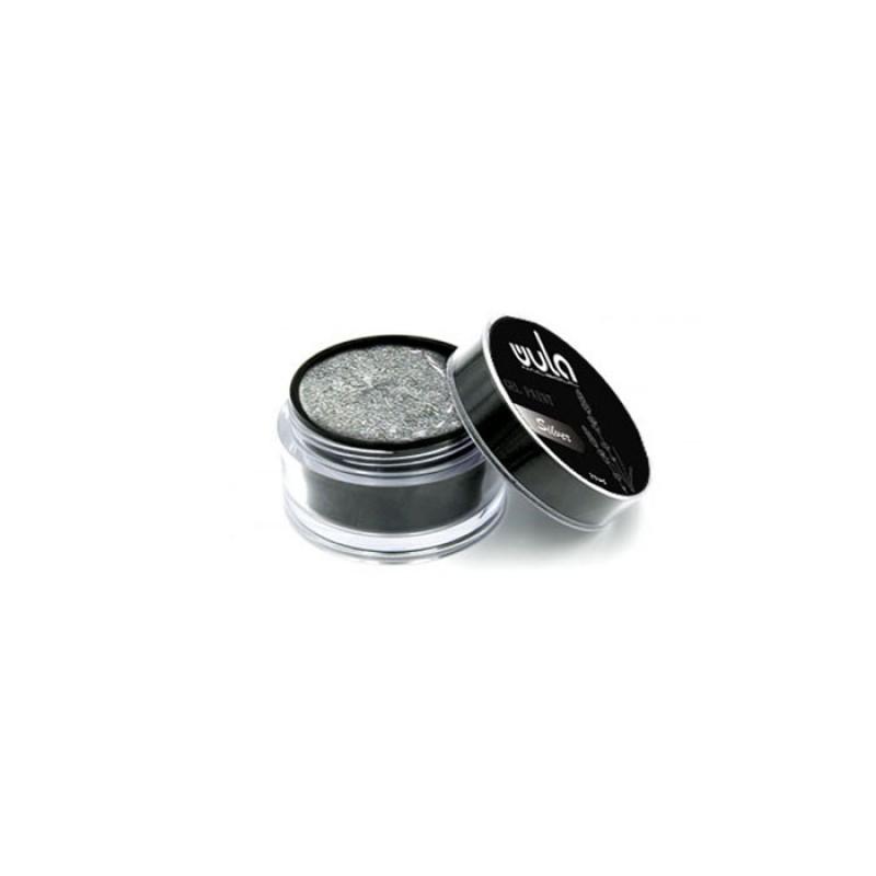 WULA NAILSOUL Гель-краска для ногтей / Wula nailsoul, Silver 15 мл