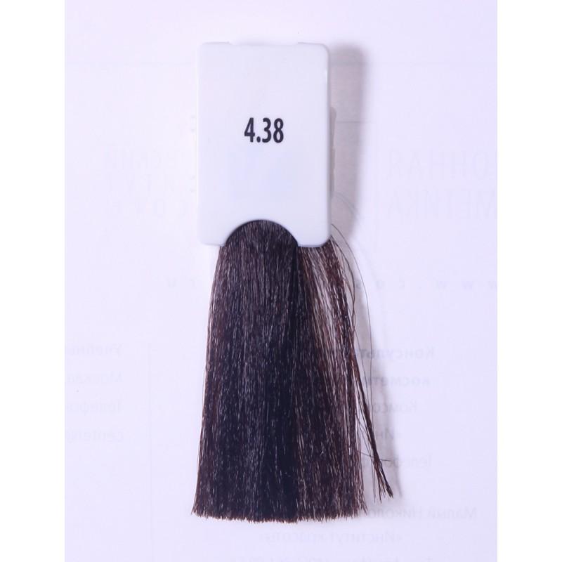 KAARAL 4.38 краска для волос / Baco Soft 60 мл