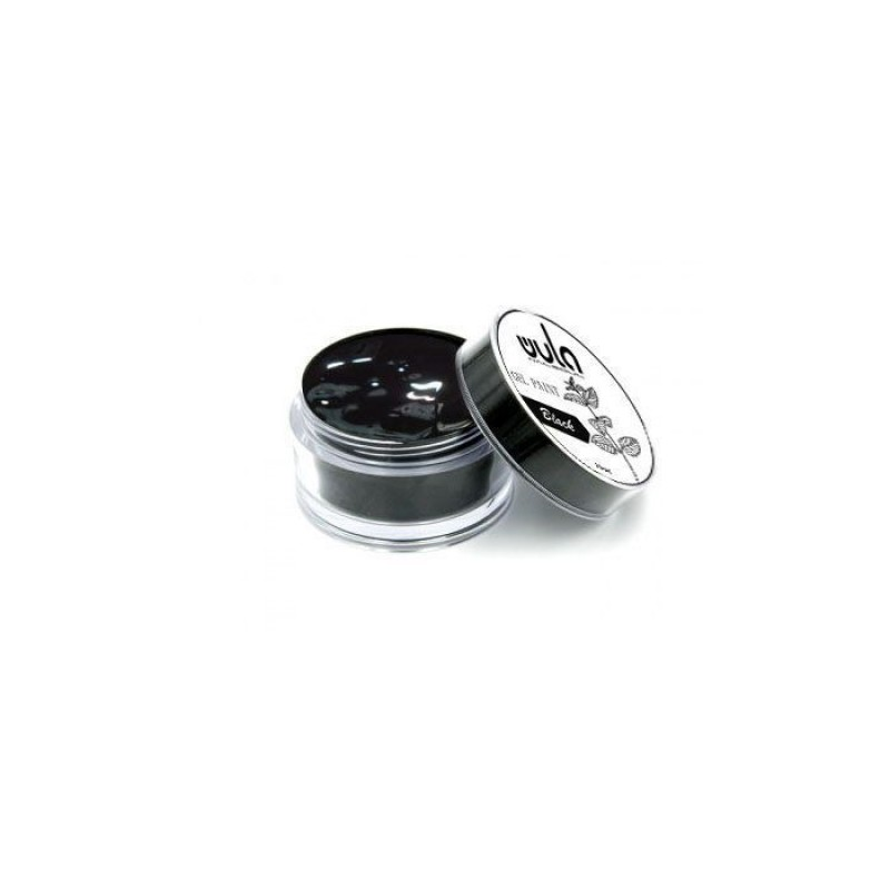 WULA NAILSOUL Гель-краска для ногтей / Wula nailsoul, Black 15 мл