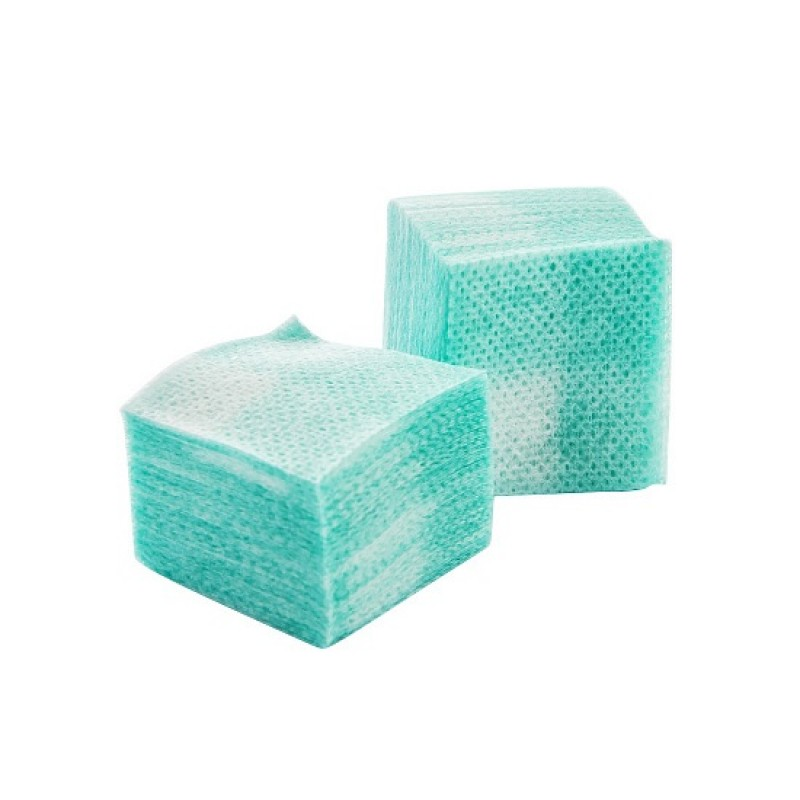 IRISK PROFESSIONAL Салфетки безворсовые 4 х 4 см, 04 зеленые 750 шт