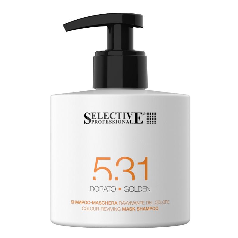 SELECTIVE PROFESSIONAL Шампунь-маска для возобновления цвета волос 531, золотистый 275 мл