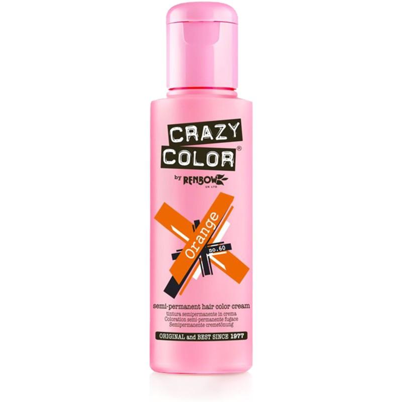 CRAZY COLOR Краска для волос, оранжевый / Crazy Color Orange 100 мл