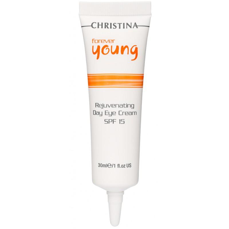 CHRISTINA Крем омолаживающий дневной для зоны глаз СПФ15 / Rejuvenating Day Eye Cream FOREVER YOUNG 30 мл