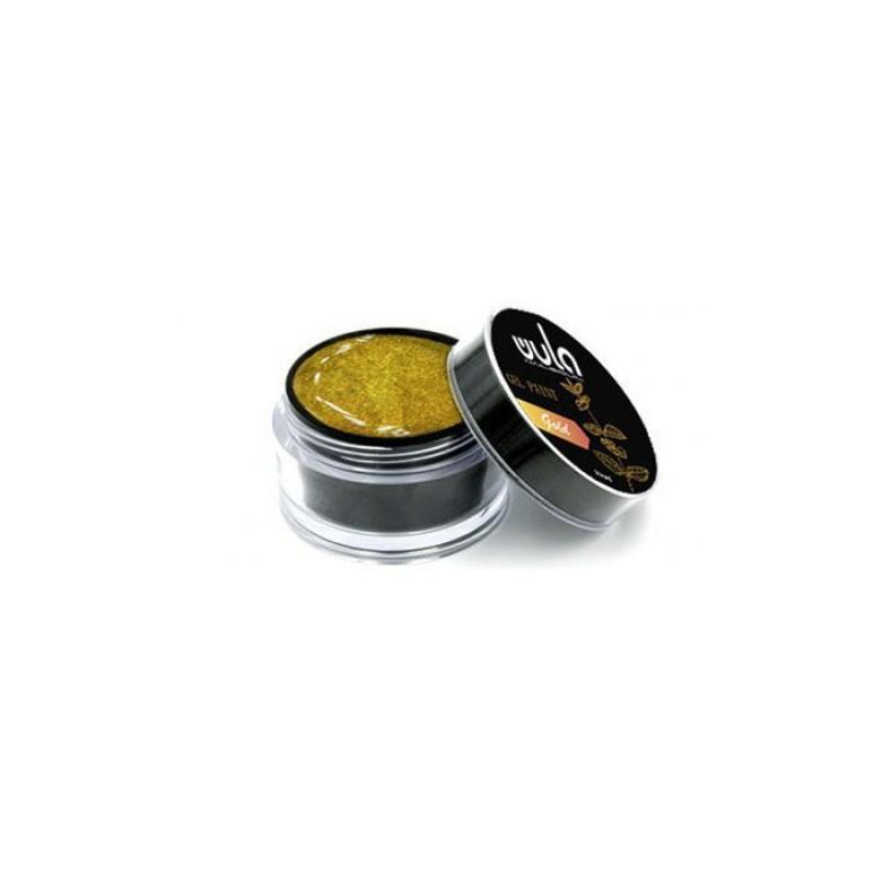 WULA NAILSOUL Гель-краска для ногтей / Wula nailsoul, Gold 15 мл