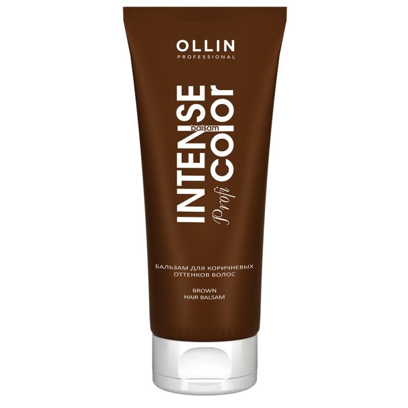 OLLIN PROFESSIONAL Бальзам тонирующий для коричневых оттенков волос / Brown hair balsam INTENSE Profi COLOR 200 мл