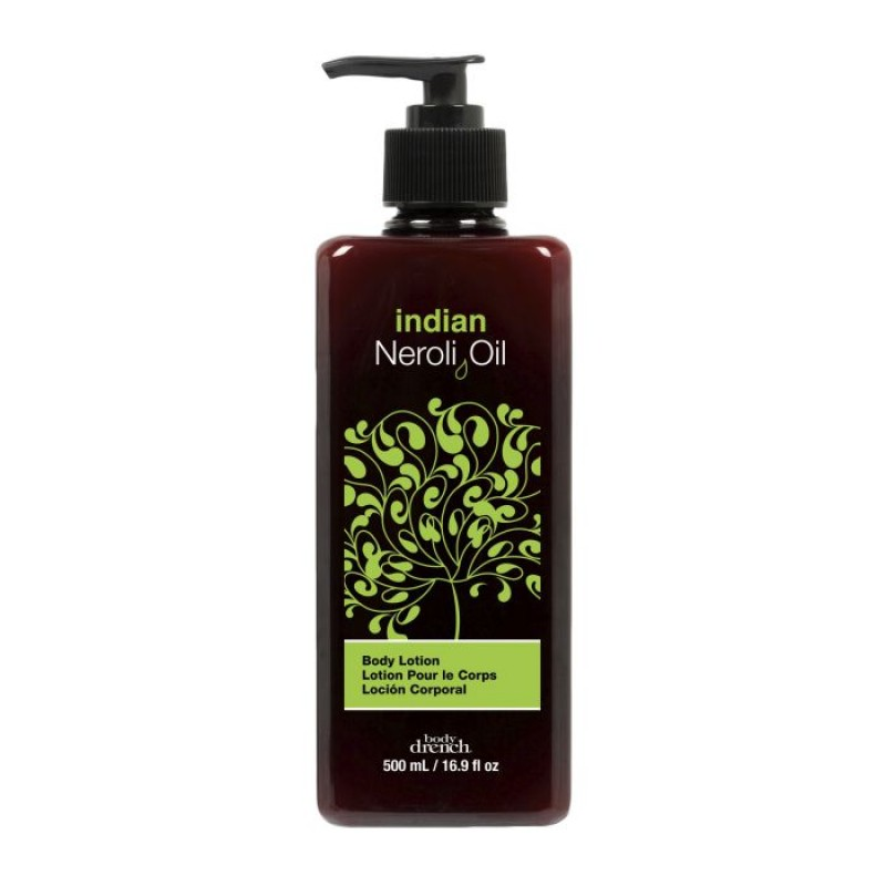 BODY DRENCH Лосьон индийский для тела с маслом нероли / Exotic Oils Indian Neroli Oil Body Lotion 500 мл